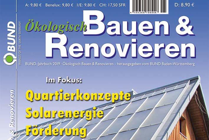 Bund Jahrbuch Okologisch Bauen Und Renovieren 2019